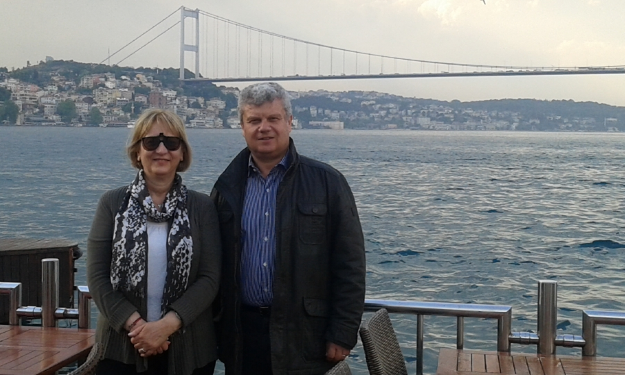 with Professor Aysegul Tanik (Istanbul Technical University)